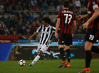 Juan Cuadrano  of Juventus  during the  Coppa Italia ( Tim Cup) final soccer match,  Ac Milan  - Juventus Fc       at  the Stadio Olimpico in Rome  Italy , 09 May 2018