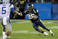 4 December 2010:  FIU running back Darrian Mallary (26) carries the ball in the third quarter as the Middle Tennessee State University Blue Raiders defeated the FIU Golden Panthers, 28-27, at FIU Stadium in Miami, Florida.