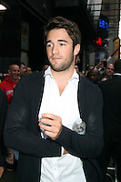 May 15, 2012 Joshua Bowman at Good Morning America  to talk about ABC TV series Revenge in New York City. Credit: RW/MediaPunch Inc.