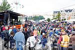 Hurricane Highway entertaining the crowd at  Bikefest in Killarney on Sunday