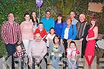 Nancy O'Connor, Cordal (seated centre) celebrated her 30th birthday last Saturday night in the Stonehouse, Tralee along with family and friends.