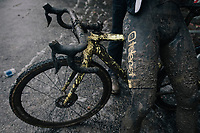post-race patine<br /> <br /> Elite Men's Race<br /> CX Vlaamse Druivencross Overijse 2017