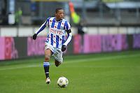 VOETBAL: HEERENVEEN: Abe Lenstra Stadion, 09-12-2012, Eredivisie 2012-2013, SC Heerenveen - Roda JC, Eindstand 4-4, Rajiv van La Parra (SCH), ©foto Martin de Jong