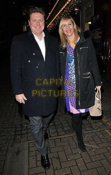 Rod Barker &amp; Tania Bryer attend the &quot;Bend It Like Beckham&quot; charity gala performance in aid of the Gynaecological Cancer Fund, Phoenix Theatre, Charing Cross Road, London, England, UK, on Friday 27 November 2015.<br /> CAP/CAN<br /> &copy;Can Nguyen/Capital Pictures