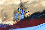 Alpine Ski World Cup 2018 Dec 15th. Men's Downhill  race as part of the Alpine Ski World Cup in Val Gardena on December 15, 2018;  Pictured: Nicolas Raffort in action © Pierre Teyssot