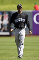 March 13, 2010 - Colorado Rockies' Jay Payton #15 during a spring training game against the Milwaukee Brewers at Maryvale Baseball Park in Phoenix, Arizona.