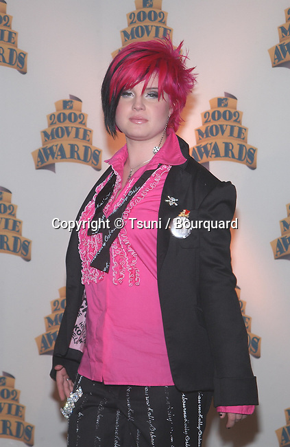 Kelly Osbourne in the pressroom at the 2002 MTV MOVIE AWARDS, Saturday, June 1, at the Shrine Auditorium, Los Angeles, CA.           -            mtvMovieP_163.jpg