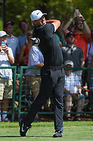 Brooks Koepka (USA) watches his tee shot on 10 during round 1 of the 2019 Tour Championship, East Lake Golf Course, Atlanta, Georgia, USA. 8/22/2019.<br /> Picture Ken Murray / Golffile.ie<br /> <br /> All photo usage must carry mandatory copyright credit (© Golffile | Ken Murray)
