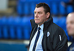 St Johnstone v Ross County....22.11.14   SPFL<br /> Saints boss Tommy Wright<br /> Picture by Graeme Hart.<br /> Copyright Perthshire Picture Agency<br /> Tel: 01738 623350  Mobile: 07990 594431