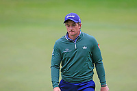 Paul Dunne (IRL) on the 9th hole during Saturday's Round 3 of the 2017 Omega European Masters held at Golf Club Crans-Sur-Sierre, Crans Montana, Switzerland. 9th September 2017.<br /> Picture: Eoin Clarke | Golffile<br /> <br /> <br /> All photos usage must carry mandatory copyright credit (&copy; Golffile | Eoin Clarke)
