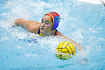 INDIANAPOLIS, IN - MAY 14: Carlee Kapana (1) of UCLA in action during the Division I Women's Water Polo Championship against Stanford University held at the IU Natatorium-IUPUI Campus on May 14, 2017 in Indianapolis, Indiana. (Photo by Joe Robbins/NCAA Photos/NCAA Photos via Getty Images)