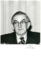Germain Perreault<br /> , President Banque  Canadienne Nationale<br /> , 1 mars 1979<br /> <br /> PHOTO :   Agence Quebec Presse