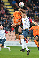 Byron Harrison Of Barnet during Barnet vs Stockport County, Emirates FA Cup Football at the Hive Stadium on 2nd December 2018