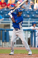 August 19,2010 Jemile Weeks (24) during the MiLB game between the Midland RockHounds and the Tulsa Drillers at OneOk Field in Tulsa Oklahoma.