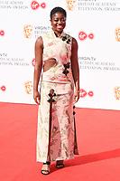 Clara Amfo<br /> arriving for the BAFTA TV Awards 2018 at the Royal Festival Hall, London<br /> <br /> ©Ash Knotek  D3401  13/05/2018