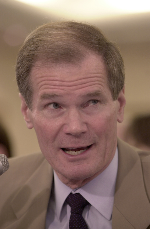 1senbankhear102401 -- Senator Bill Nelson ((D-FL) testifying before the Senate banking Committee on Wednesday.