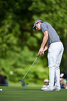 Matt Fitzpatrick (ENG) barely misses his birdie putt on 2 during round 3 of the 2019 Charles Schwab Challenge, Colonial Country Club, Ft. Worth, Texas,  USA. 5/25/2019.<br /> Picture: Golffile | Ken Murray<br /> <br /> All photo usage must carry mandatory copyright credit (© Golffile | Ken Murray)