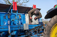 In-field check of potato planter eleictrical sysyem