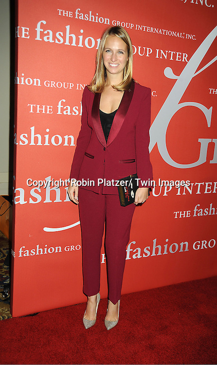 Misha Nonoo attends the Fashion Group International's 29th Annual  Night of Stars Gala on October 25, 2012 at Cipriani Wall Street in New York City.