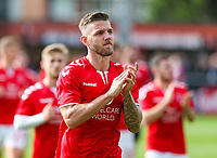 Fleetwood Town's Ashley Eastham<br /> <br /> Photographer Alex Dodd/CameraSport<br /> <br /> The EFL Sky Bet League One - Fleetwood Town v Accrington Stanley - Saturday 15th September 2018  - Highbury Stadium - Fleetwood<br /> <br /> World Copyright &copy; 2018 CameraSport. All rights reserved. 43 Linden Ave. Countesthorpe. Leicester. England. LE8 5PG - Tel: +44 (0) 116 277 4147 - admin@camerasport.com - www.camerasport.com