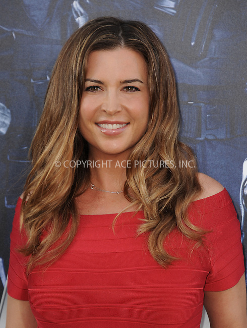 ACEPIXS.COM<br /> <br /> August 11 2014, LA<br /> <br /> Ashley Cusato arriving at the premiere of  'The Expendables 3' at the TCL Chinese Theatre on August 11, 2014 in Hollywood, California.<br /> <br /> <br /> By Line: Peter West/ACE Pictures<br /> <br /> ACE Pictures, Inc.<br /> www.acepixs.com<br /> Email: info@acepixs.com<br /> Tel: 646 769 0430