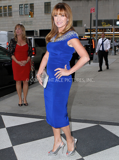 WWW.ACEPIXS.COM<br /> <br /> May 5 2015, New York City<br /> <br /> Jane Seymour arriving at the 2015 CLIO Awards at The Plaza Hotel on May 5, 2015 in New York City.<br /> <br /> By Line: Nancy Rivera/ACE Pictures<br /> <br /> <br /> ACE Pictures, Inc.<br /> tel: 646 769 0430<br /> Email: info@acepixs.com<br /> www.acepixs.com
