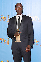 BEVERLY HILLS, CA - JANUARY 13: Don Cheadle in the press room at the 70th Annual Golden Globe Awards at the Beverly Hills Hilton Hotel in Beverly Hills, California. January 13, 2013. Credit MediaPunch Inc. /NortePhoto