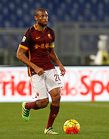 Calcio, Serie A: Roma vs Sampdoria. Roma, stadio Olimpico, 7 febbraio 2016.<br /> Roma&rsquo;s Seydou Keita in action during the Italian Serie A football match between Roma and Sampdoria at Rome's Olympic stadium, 7 January 2016.<br /> UPDATE IMAGES PRESS/Riccardo De Luca