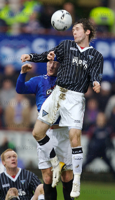 Jim O'Brien, Dunfermline.stock season 2006-2007.pic willie vass
