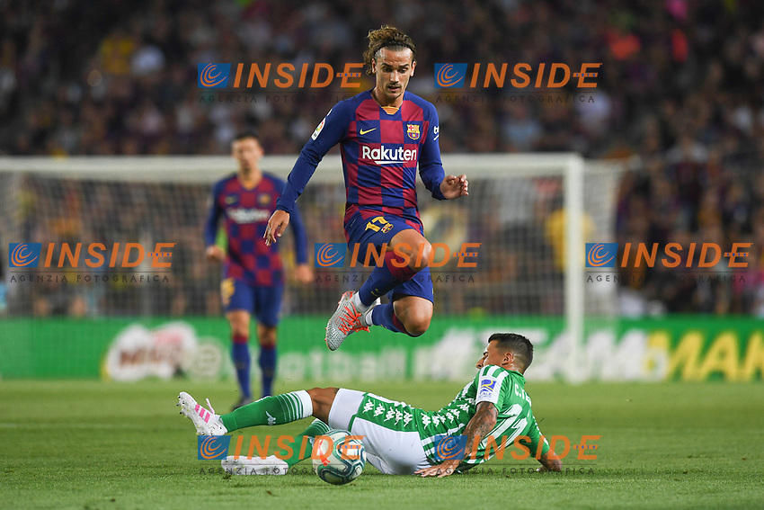 FOOTBALL: FC Barcelone vs Real Betis - La Liga-25/08/2019<br /> Antoine Griezmann (FCB) <br /> <br />  <br /> 25/08/2019 <br /> Barcelona - Real Betis  <br /> Calcio La Liga 2019/2020  <br /> Photo Paco Largo/Panoramic/insidefoto