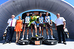 AG2R La Mondiale win the team classification at the end of the final Stage 8 of the Criterium du Dauphine 2017, running 115km from Albertville to Plateau de Solaison, France. 11th June 2017. <br /> Picture: ASO/A.Broadway | Cyclefile<br /> <br /> <br /> All photos usage must carry mandatory copyright credit (&copy; Cyclefile | ASO/A.Broadway)