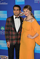 Kumail Nanjiani & Emily V. Gordon at the 2018 Palm Springs Film Festival Awards at Palm Springs Convention Center, USA 02 Jan. 2018<br /> Picture: Paul Smith/Featureflash/SilverHub 0208 004 5359 sales@silverhubmedia.com