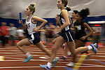Haley Argenziano (left) from Mount Saint Mary;s High School leads the pack during the first leg of the girls 4 x 800 meter race during the NJSIAA Winter Track &amp; Field Relay Championships held at Bennett Center in Toms River on Wednesday January 18, 2018.<br /> <br /> (Mark R. Sullivan | For NJ Advance Media)