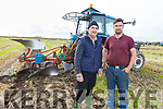 Colm and Liam Dineen from Causeway at the ploughing championship in Causeway on Sunday.