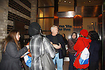 Jerry verDorn and fans on the last day of shooting of The Soap Opera One Life To Live at the One Life To Live Studio on November 18, 2011, New York City, New York. (Photo by Sue Coflin/Max Photos)