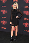 WESTWOOD, CA - OCTOBER 26: Actress Isabel May arrives at the Premiere Of Netflix's 'Stranger Things' Season 2 at Regency Westwood Village Theatre on October 26, 2017 in Los Angeles, California.