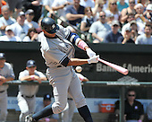 Baltimore, MD - May 10, 2009 -- New York Yankees third baseman Alex Rodriguez (13) swings and misses at a pitch in the first inning against the Baltimore Orioles at Oriole Park at Camden Yards in Baltimore, MD on Sunday, May 10, 2009..Credit: Ron Sachs / CNP.(RESTRICTION: NO New York or New Jersey Newspapers or newspapers within a 75 mile radius of New York City)