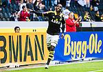 Solna 2015-07-12 Fotboll Allsvenskan AIK - GIF Sundsvall :  <br /> AIK:s Henok Goitom firar sitt 1-1 m&aring;l under matchen mellan AIK och GIF Sundsvall <br /> (Foto: Kenta J&ouml;nsson) Nyckelord:  AIK Gnaget Friends Arena Allsvenskan GIF Sundsvall Giffarna jubel gl&auml;dje lycka glad happy