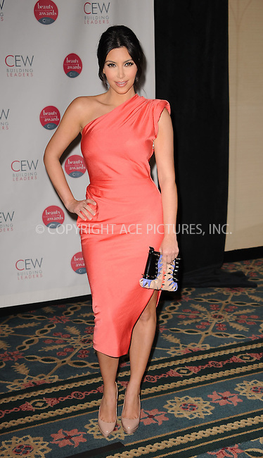 WWW.ACEPIXS.COM . . . . . ....May 21 2010, New York City....Kim Kardashian at the 2010 Cosmetic Executive Women Beauty Awards at The Waldorf Astoria on May 21, 2010 in New York City....Please byline: KRISTIN CALLAHAN - ACEPIXS.COM.. . . . . . ..Ace Pictures, Inc:  ..(212) 243-8787 or (646) 679 0430..e-mail: picturedesk@acepixs.com..web: http://www.acepixs.com