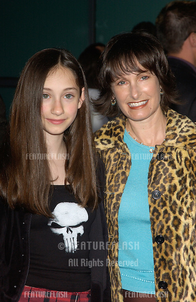 Producer GALE ANNE HURD & daughter at the Los Angeles premiere of her new movie The Punisher..April 12, 2004