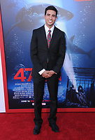 "12 June 2017 - Westwood, California - Santiago Segura. ""47 Meters Down"" Los Angeles Premiere held at Regency Village Theatre in Westwood. Photo Credit: Birdie Thompson/AdMedia"