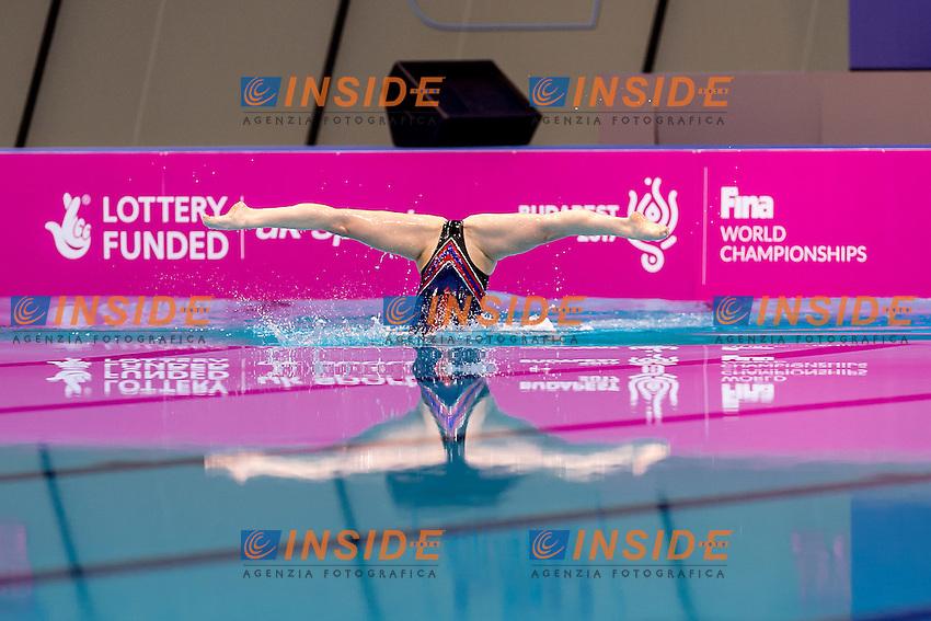 DAMYANOVA Hristina  DIMITROVA Zlatina  BUL<br /> London, Queen Elizabeth II Olympic Park Pool <br /> LEN 2016 European Aquatics Elite Championships <br /> Duet Free final<br /> Day 03 11-05-2016<br /> Photo Giorgio Scala/Deepbluemedia/Insidefoto