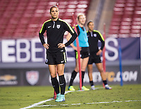 Tampa, FL - March 2, 2016: The USWNT trains in preparation for the first game of the SheBelieves Cup at Raymond James Stadium.