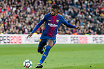 Ousmane Dembele of FC Barcelona in action during the La Liga 2017-18 match between FC Barcelona and Getafe FC at Camp Nou on 11 February 2018 in Barcelona, Spain. Photo by Vicens Gimenez / Power Sport Images