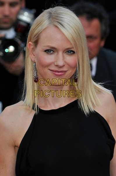 NAOMI WATTS.'Biutiful' premiere at the 63rd International Cannes Film Festival, Cannes, France, May 17th 2010..portrait headshot black dangly earrings straight hair make-up .CAP/PL.©Phil Loftus/Capital Pictures.