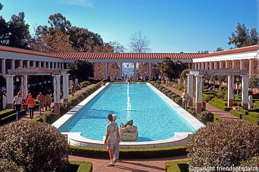 Malibu CA: J. Paul Getty Museum, 1972-73. Photo '86.
