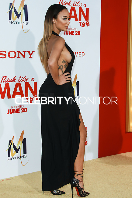 HOLLYWOOD, LOS ANGELES, CA, USA - JUNE 09: Draya Michele at the Los Angeles Premiere Of Screen Gems' 'Think Like A Man Too' held at the TCL Chinese Theatre on June 9, 2014 in Hollywood, Los Angeles, California, United States. (Photo by David Acosta/Celebrity Monitor)