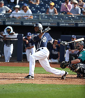 Manuel Margot - San Diego Padres 2016 spring training (Bill Mitchell)