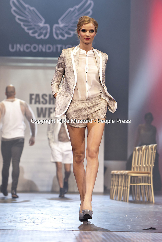 8th December 2012:The main fashion show at Clothes Show Live 2012 at the NEC, Birmingham, UK