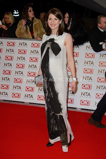 WWW.ACEPIXS.COM<br /> <br /> January 20 2015, London<br /> <br /> Jodie Whittaker attends the National Television Awards at the O2 Arena on January 21 2015 in London<br /> <br /> <br /> By Line: Famous/ACE Pictures<br /> <br /> <br /> ACE Pictures, Inc.<br /> tel: 646 769 0430<br /> Email: info@acepixs.com<br /> www.acepixs.com